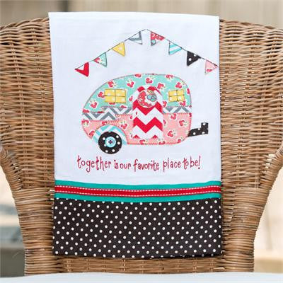 Camper Favorite Place To Be Tea Towel