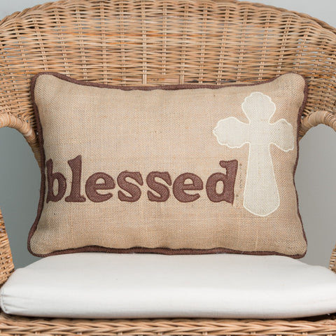 Blessed Cross Pillow