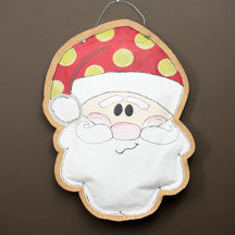 Santa Canvas Burlee