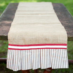 Alabama Burlap Table Runner by Glory Haus