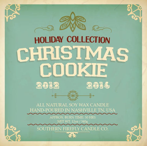 Christmas Cookie Scented Soy Candle