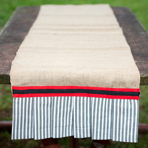 Georgia Burlap Table Runner by Glory Haus