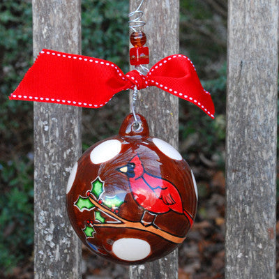 Bird Ball Ornament by Glory Haus