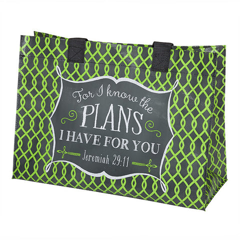 For I Know the Plans Tote
