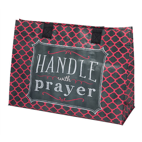 Handle With Prayer Tote