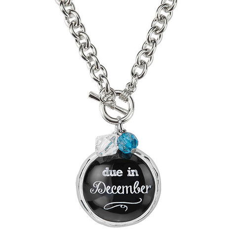 Due In December Necklace