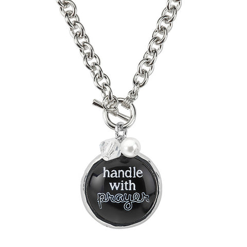 Handle With Prayer Necklace
