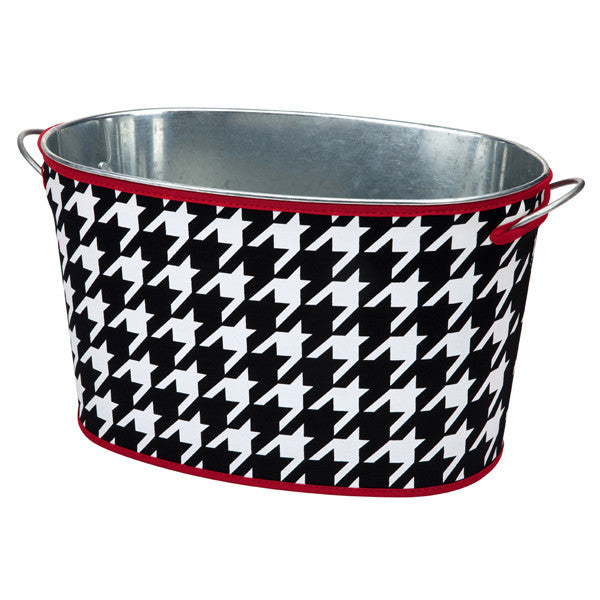 Houndstooth Tub and Cover Set