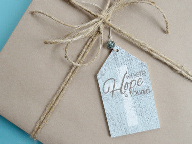Hope Gift Tag Ornament