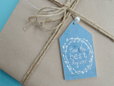 Best Day Ever Gift Tag Ornament