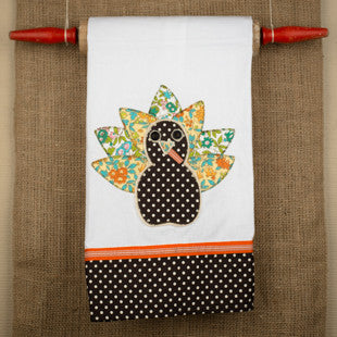 Turkey Tea Towel by Glory Haus