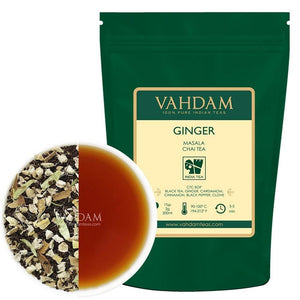 Ginger Chai Tea, Set da2 (100g, 100 tazze) | 100% SPEZIE NATURALI