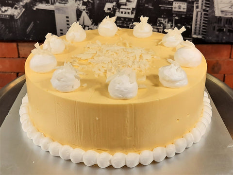 Mango Mousse Cake (Whole)