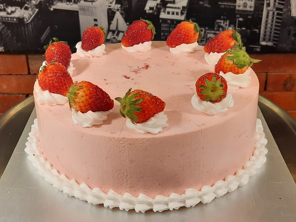 Strawberry Mousse Cake (Whole)