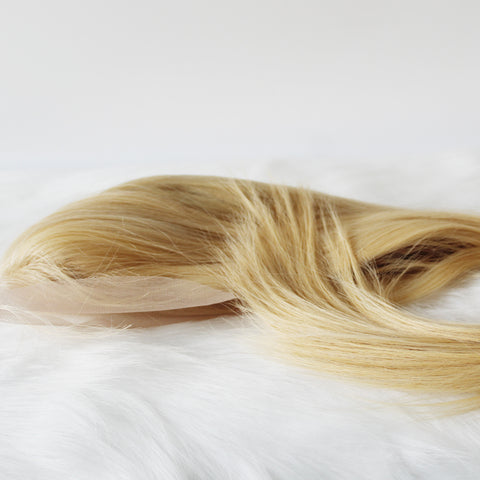 Brazilian Human Hair 613 Silk Top Full Lace Wigs Platinum Blonde Wigs Silky Straight - Luckin Wigs