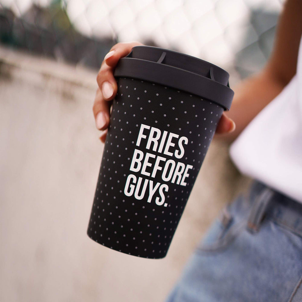 Becher mit Fries Before Guys Print