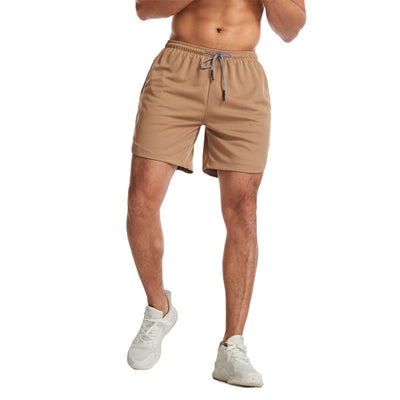New Double Layer Men's Fitness Shorts - versaley