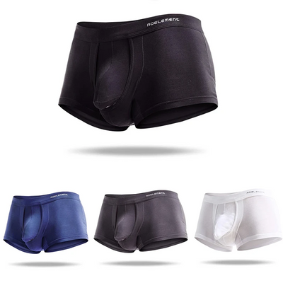Micro Modal Men's Breathable Sperate Pounch Underwear🔥Buy 3+ Get 10% discount ,Buy 5+ ,20% discount ‼ Limited Time Offer 😍 ! - versaley