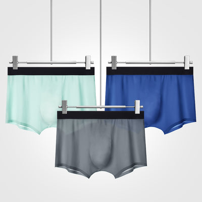 Ice Silk Super Light Cool Men's Boxer Brief - versaley