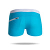 Men's Beach Board Shorts Swimwear   with Zipper Pockets - versaley