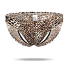 Ice Silk Hollow Sexy  Leopard Panties - versaley