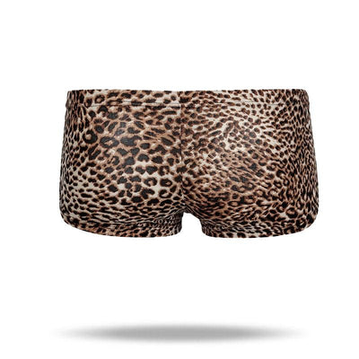 Ice Silk Sexy leopard Men's Brief - versaley