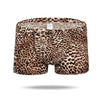 Ice Silk Sexy Leopard Men's Trunk - versaley