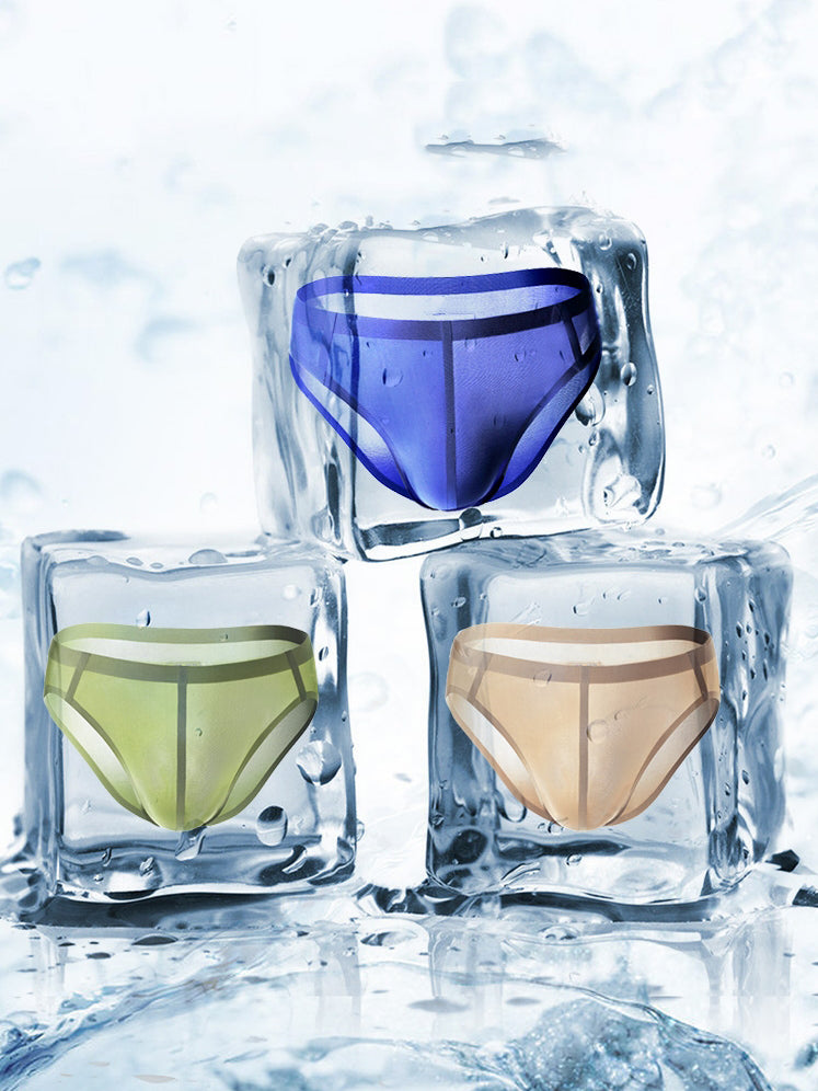 Amazingly Comfy  Ice Silk  Lightweight Pouch Brief - versaley