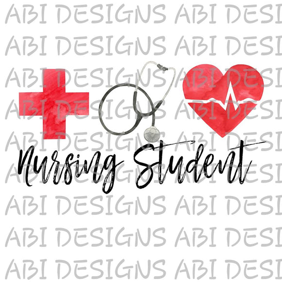 Nursing Student-Sublimation