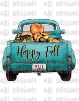 Happy Fall - Sublimation