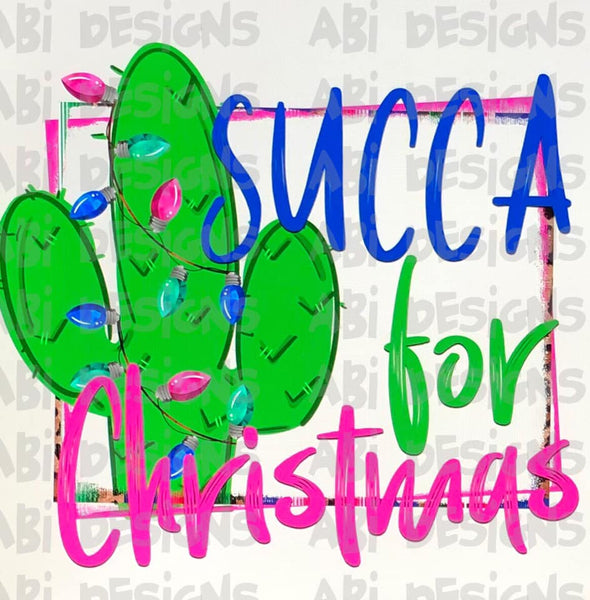 Succa For Christmas- Sublimation
