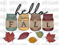 Hello Fall- Sublimation