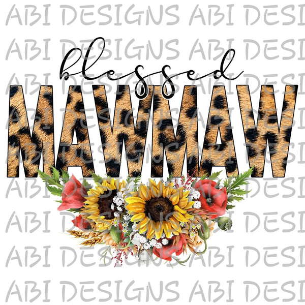 Blessed MAWMAW- Sublimation