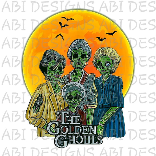 The Golden Ghouls- Sublimation