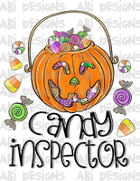 Candy Inspector- Sublimation