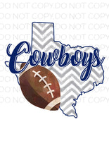 Cowboys- Sublimation