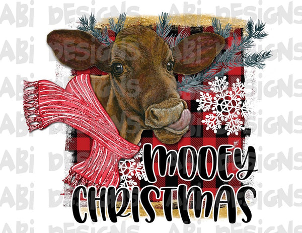 Mooey Christmas-Sublimation