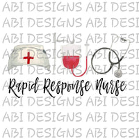 Rapid Response Nurse-Sublimation