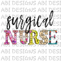 Surgical Nurse-Sublimation