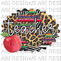 Teacher-Sublimation