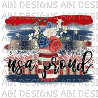 USA Proud-Sublimation