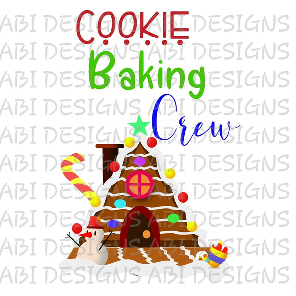 Cookie Baking Crew- Sublimation