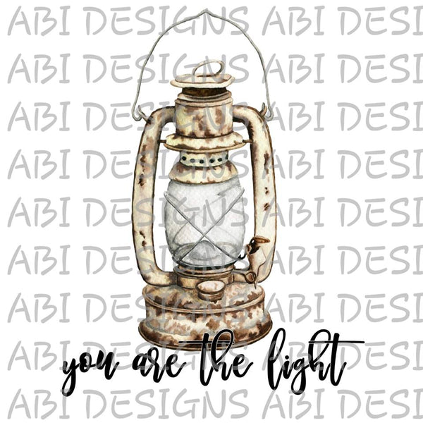 You Are The Light- Sublimation