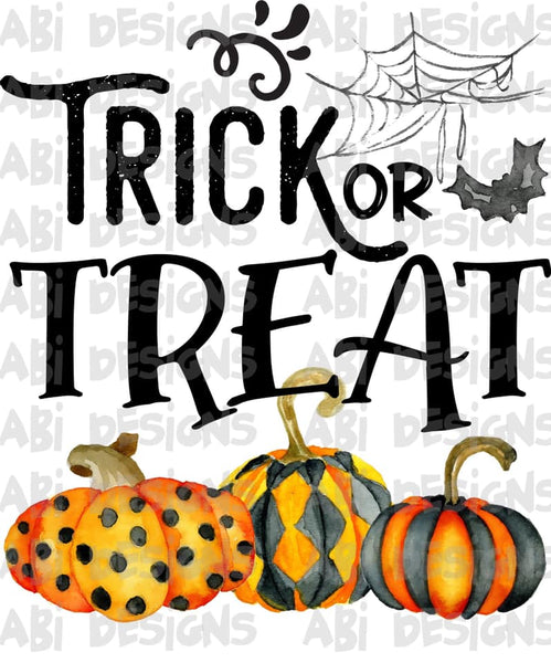 Trick Or Treat- Sublimation