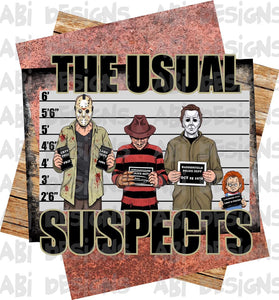 The Usual Suspects- Sublimation