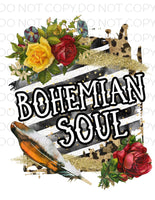 Bohemain Soul- Sublimation