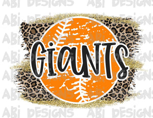 Giants- Sublimation