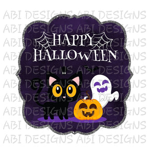 Happy Halloween- Sublimation