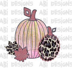 Leopard Pumpkins- Sublimation