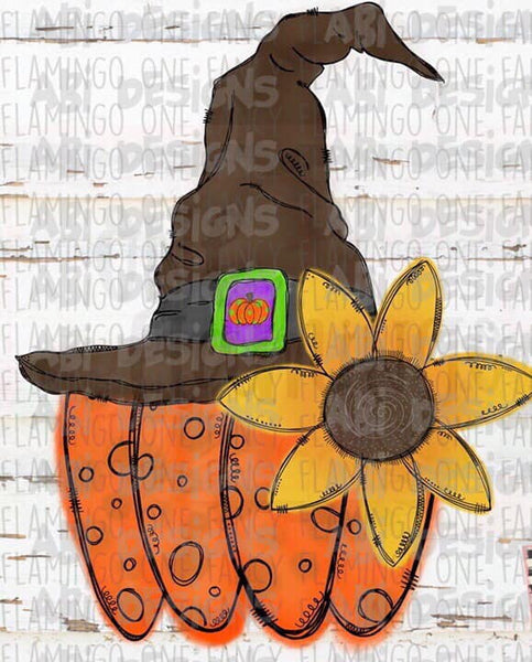 Scarecrow Pumpkin- Sublimation
